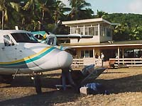 Ovalau Airport at Bureta